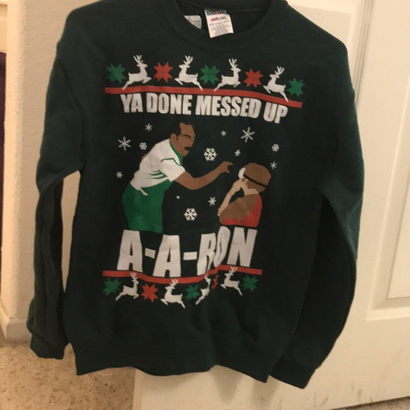0778070e christmas christmassweater uglysweater. key and peele ya done messed ...